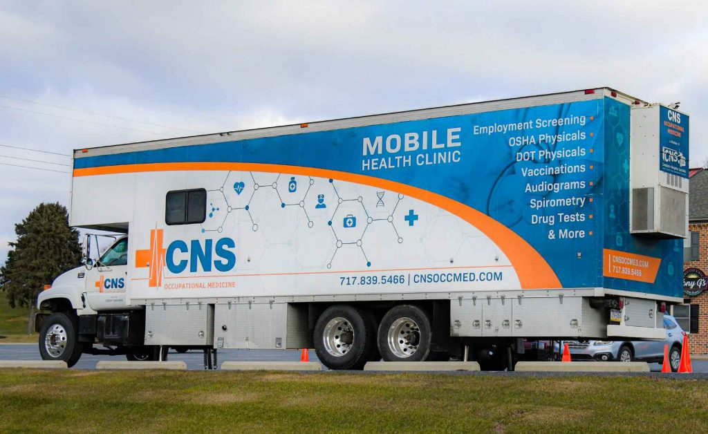 Mobile Health Clinic | Occupational Medicine | CNS