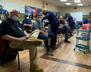 Read more about the article CNH Industrial Hosts Onsite Vaccine Clinic at Manufacturing Site in New Holland, Pennsylvania